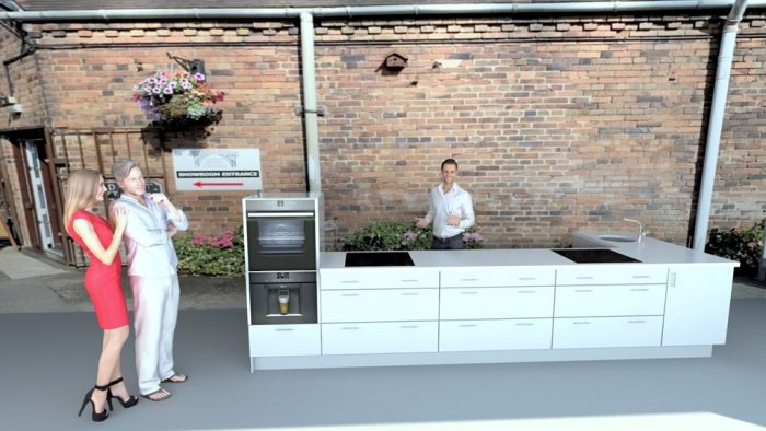 Outdoor Kitchen & Live cooking demo